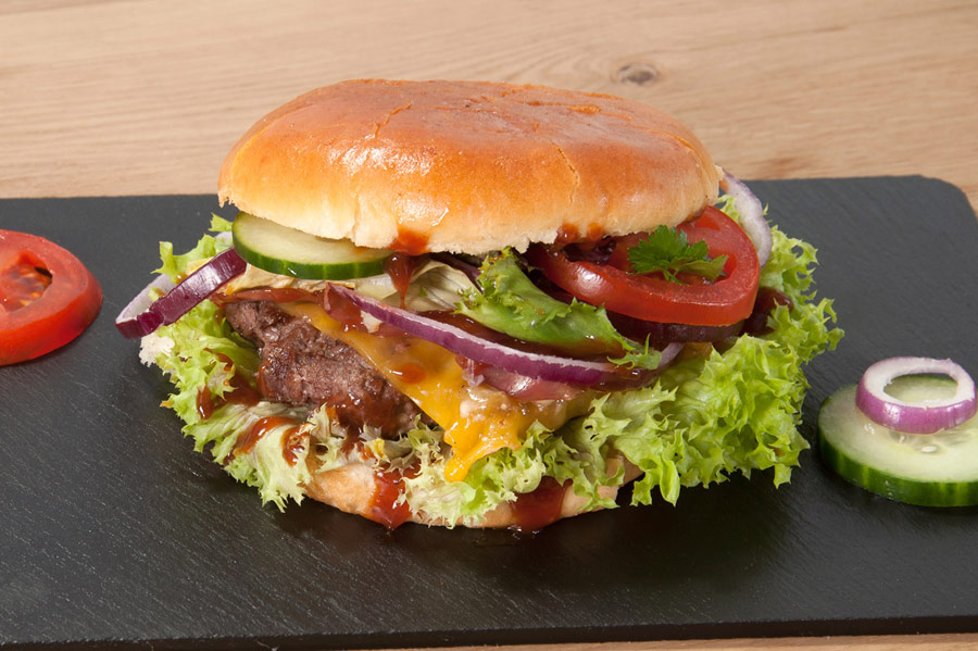 BBQ Burger von Skyloft