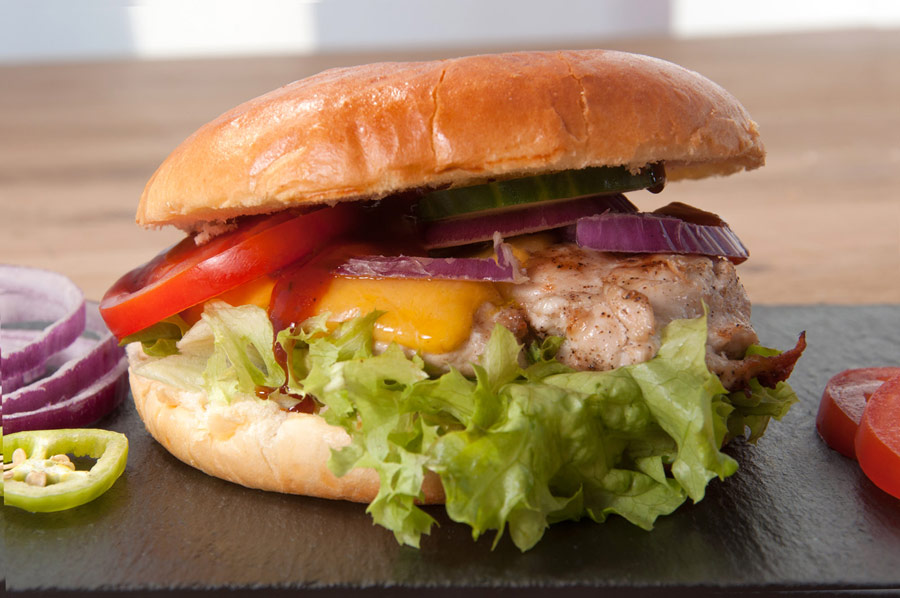 Chickenburger von Skyloft