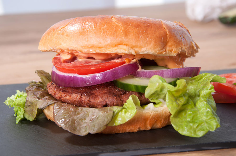 Veggi-Burger von Skyloft